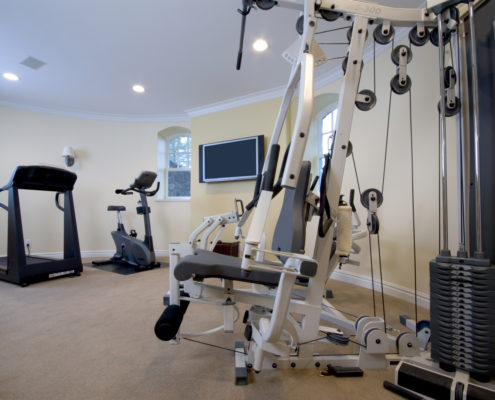 basement exercise rooms tired of paying those large gym prices