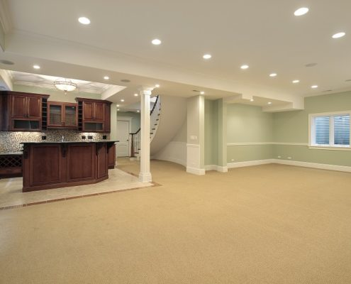 Burlington Basement Bar Remodeling Service