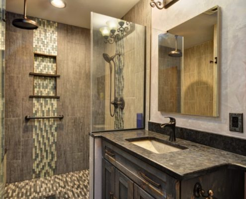 Basement Bathroom Remodel Burlington, WI