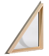 Triangle Window Installation Burlington