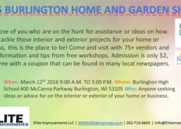 2016 Burlington Home and Garden Show