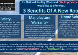 National Roofing Week Burlington Wi
