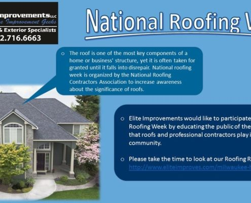 National Roofing Week Burlington