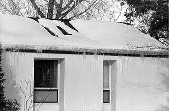 Winter Roof Damage Repair Burlington Wi