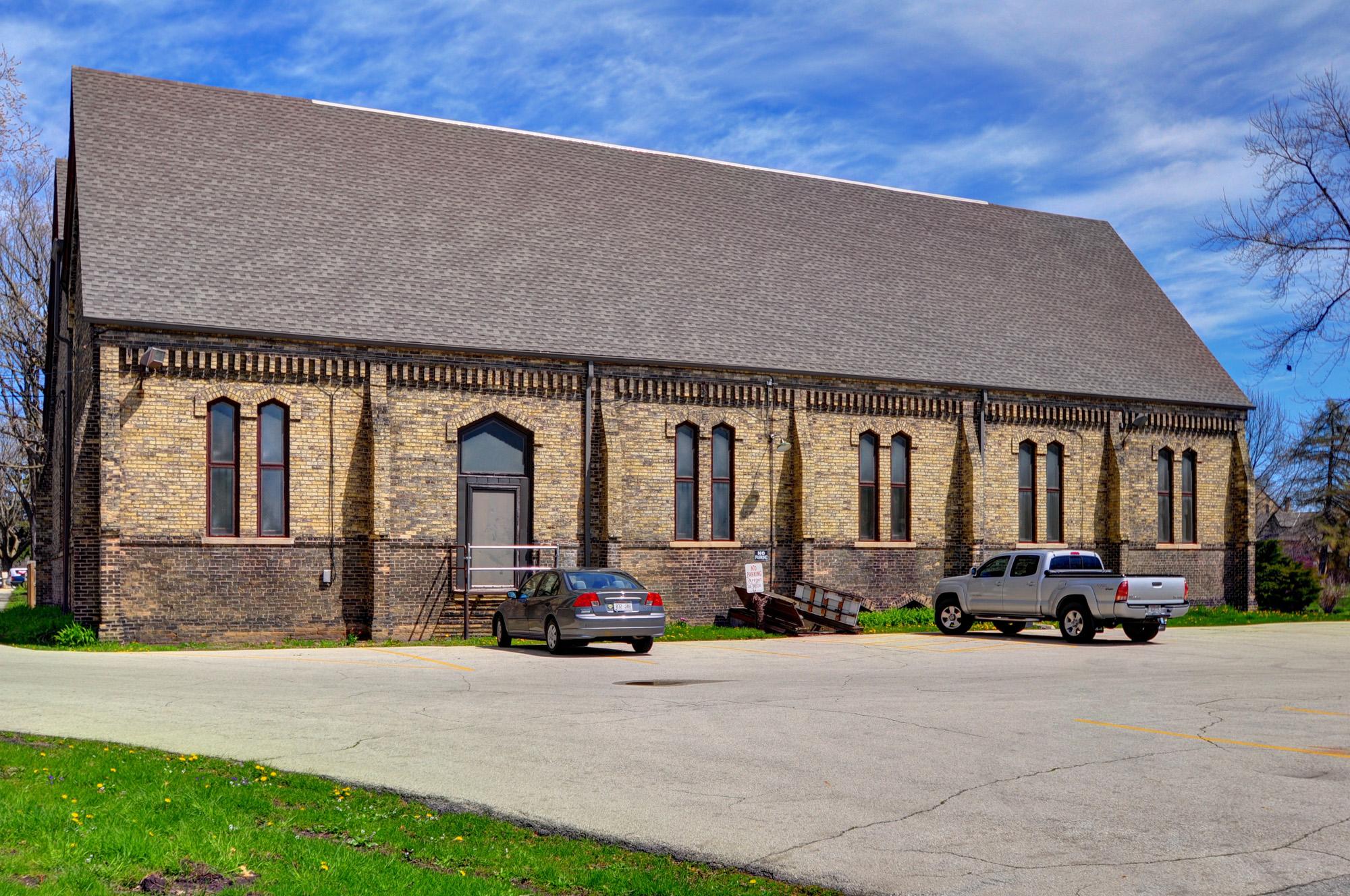 New Roof Racine Wi Dekoven Center